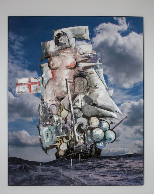 , 'Untitled (Big Galleon),' 2016, Vigo Gallery
