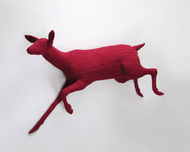 , 'Running Doe,' 2017, Visions West Contemporary