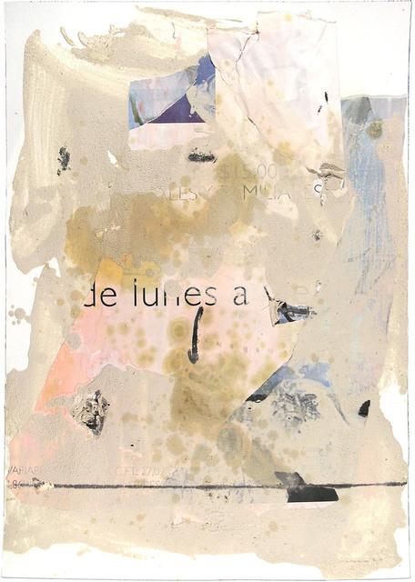 , 'MURO DE LUNES A VIERNES,' 2003, Jerald Melberg Gallery