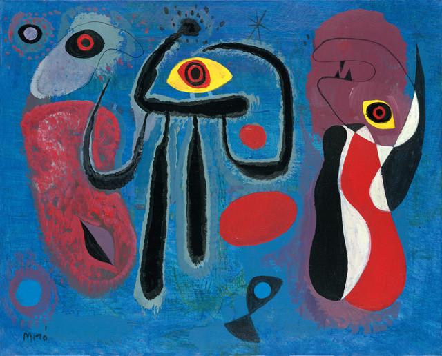 John Myatt, 'Children Frightened By a Large Spider -  In The Style of Joan Miro', 2011, Castle Fine Art
