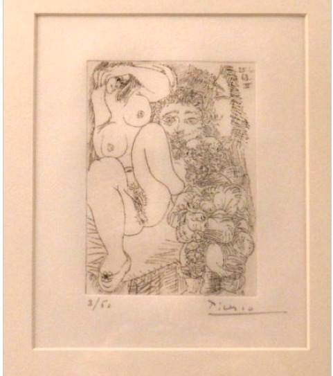 Pablo Picasso, 'Series 347', 1968, Print, ETCHING W/AQUATINT; DRYPOINT, Alessandro Berni Gallery