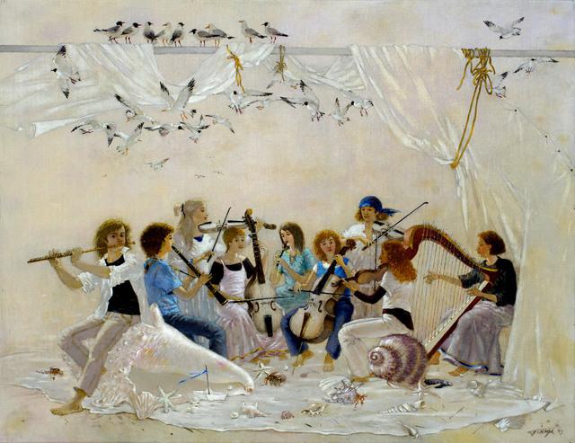 Tatyana Palchuk, 'Marine Band', 2013, Painting, Oil on Linen, Alessandro Berni Gallery
