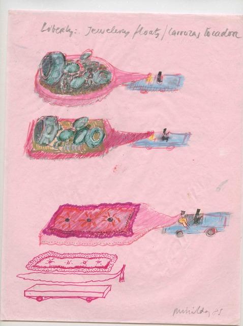 Antoni Miralda, 'Liberty Jewelry Floats/Carrozas tocador', 1985, Henrique Faria Fine Art