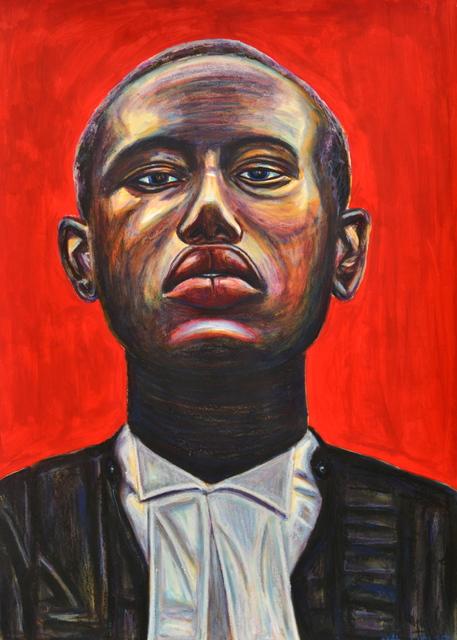 , 'African Selfie II,' 2017, EBONY/CURATED