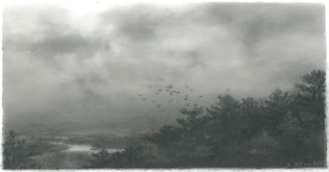 Dozier Bell, 'Decending, marsh ', 2015, DANESE/COREY