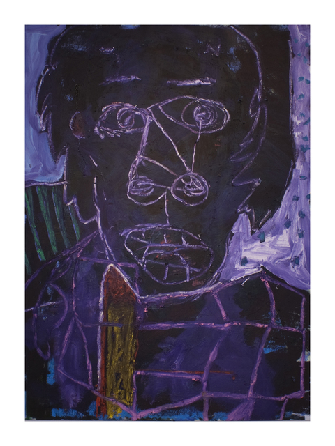 Enrico Riley, 'Abstract: Head, Waking From a Bad Dream, Alex', 2013, FRED.GIAMPIETRO Gallery