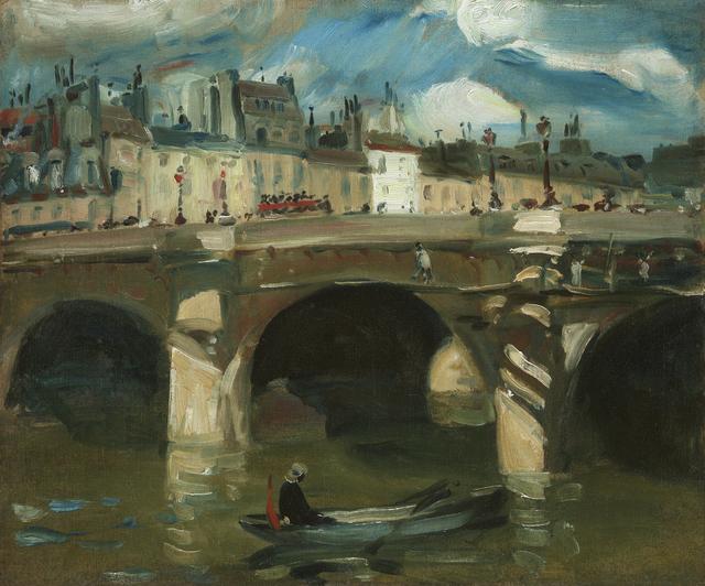 William James Glackens, 'The Seine', 1895, Debra Force Fine Art