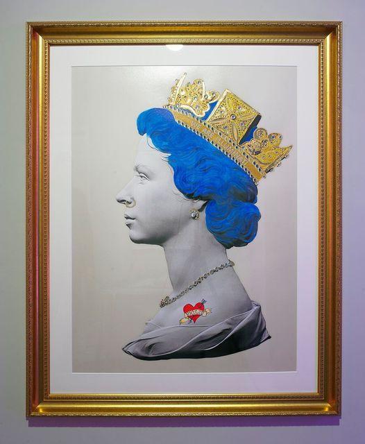 Mark Sloper, 'Blue Punk Queen Large', Flat Space Art