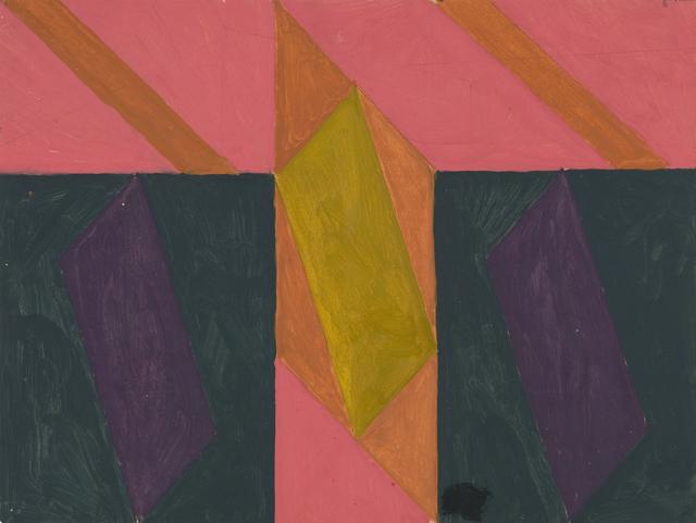 , 'Lozenges,' 1960, Flowers