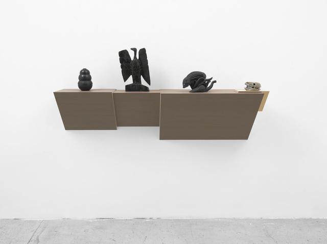 , 'Untitled (kong, eagle, alien, skull),' 2016, White Cube