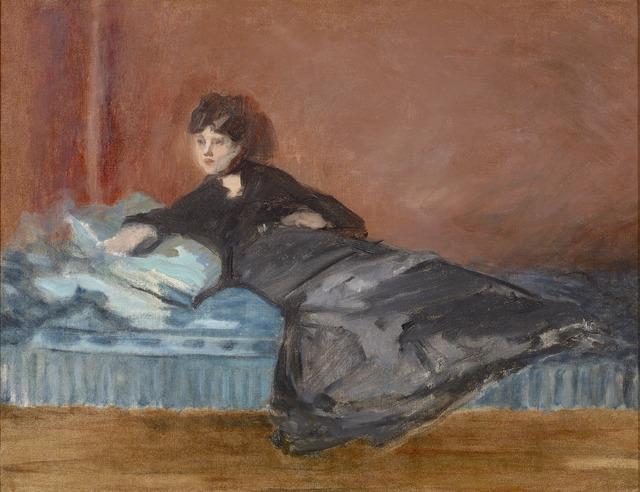 Édouard Manet, 'Berthe Morisot: Femme Allongée sur un Canapé', 1873, Painting, Oil on canvas,  M.S. Rau