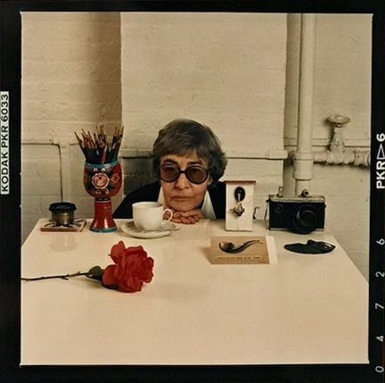 , 'Evelyn Hofer with Still Life, New York,' 1988, Staley-Wise Gallery