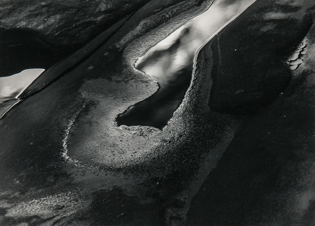 Minor White, 'Rock and Water Abstraction', c. 1950s-1960s, Skinner