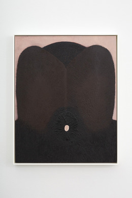 , 'Tar Hair,' 2013, Kate Werble Gallery