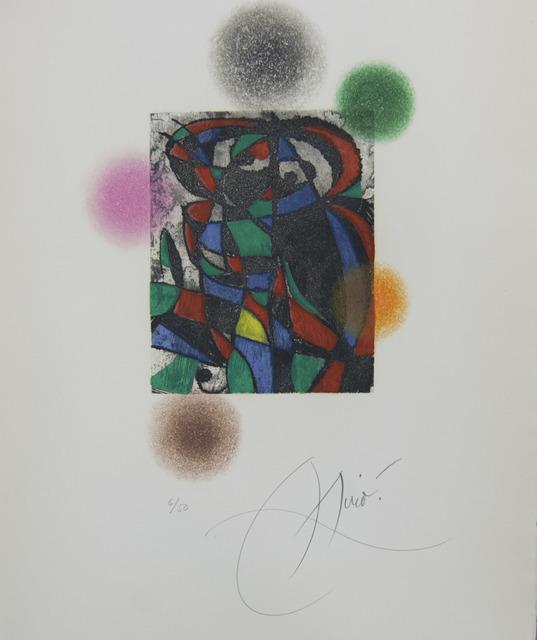 Joan Miró, 'Harlequin Twilight', 1975, Baterbys