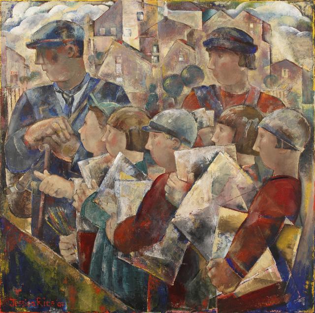 , 'Drawing Class,' , Merritt Gallery