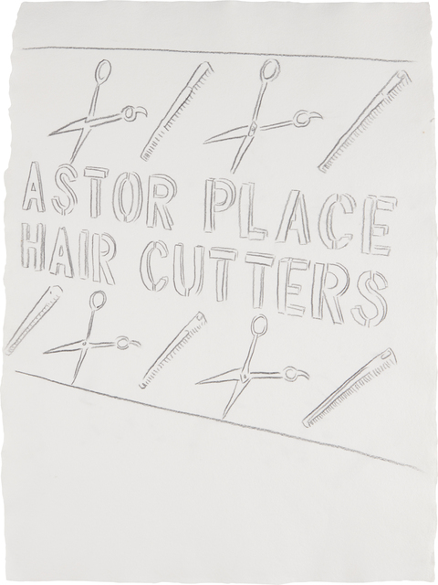 Andy Warhol, 'Astor Place Haircutters', ca. 1984, Phillips