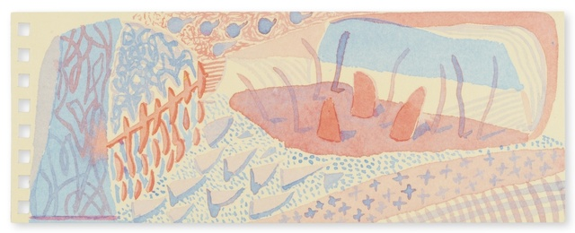David Hockney, 'Composition Red & Blue (Momart)', 2005, Forum Auctions