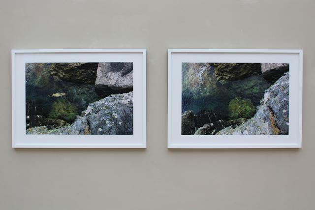 , 'Submerge (diptych),' 2017, New Art Centre