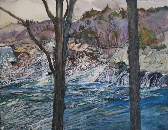 , 'Waves Crashing on Sharksmouth,' 2015, Gallery NAGA