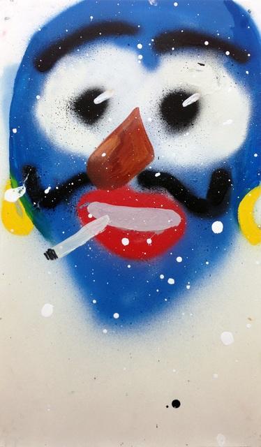 , 'Smoking Genie,' 2014, Freight + Volume