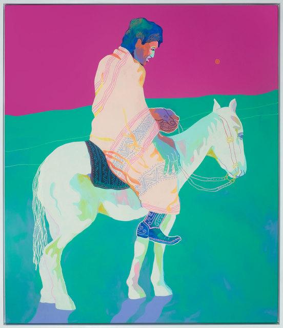 , 'Potawatomi Rider ,' 2017, Rebecca Hossack Art Gallery