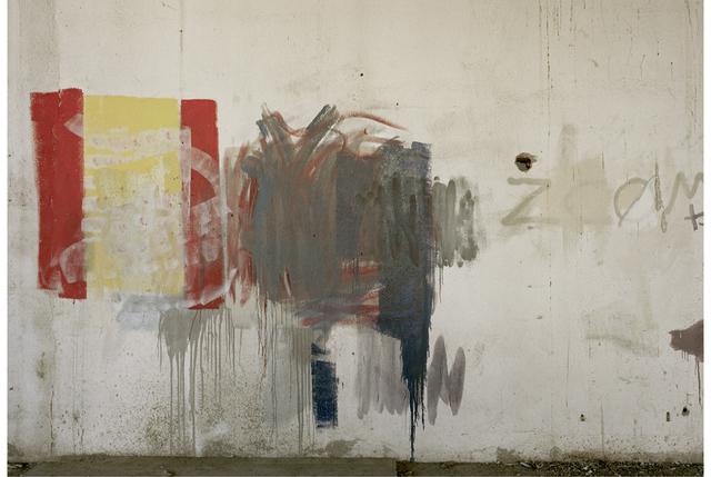 """, 'Institut La Llauna, Carrer Sagunt, Badalona, from """"Las paredes hablaron"""" series,' 2011-2013, Galeria Senda"""