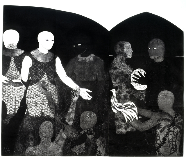 , 'Perfidia (Perfidy),' 1998, Fowler Museum at UCLA