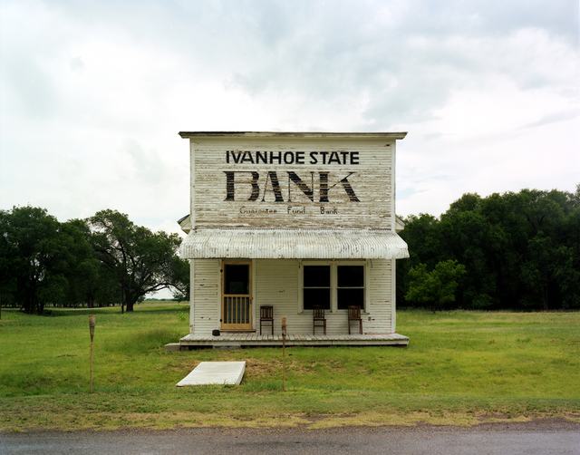 , 'North Texas: Ivanhoe State Bank, Lipscomb,' 2010, PDNB Gallery