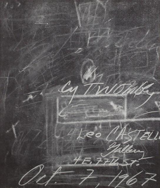 Cy Twombly, 'Solo exhibition', 1967, Finarte