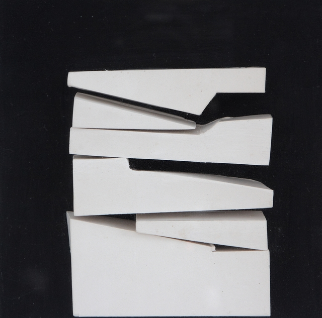 , 'White relief V. (1987/13),' 1987, ART+TEXT Budapest