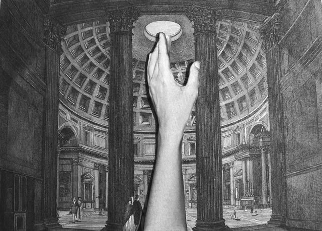 , 'Querida Pantheon Gravura [Dear Pantheon Print],' 2014, Casa Triângulo