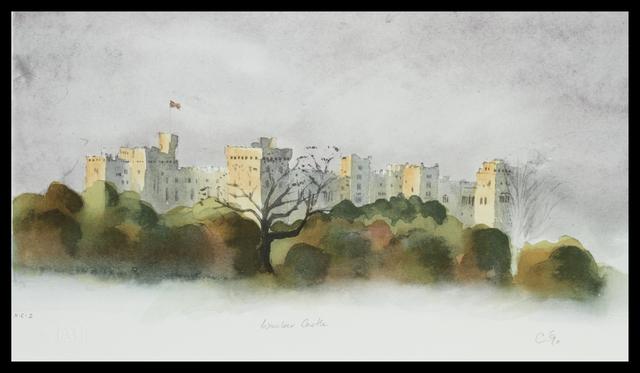 HRH Prince of Wales, 'Windsor Castle', Belgravia Gallery