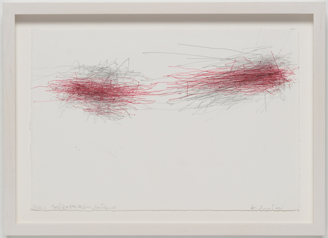 , 'Untitled (Subway Drawing, 12.30.11, Carl Andre, Melissa Kretschmer),' 2011, Ghebaly Gallery