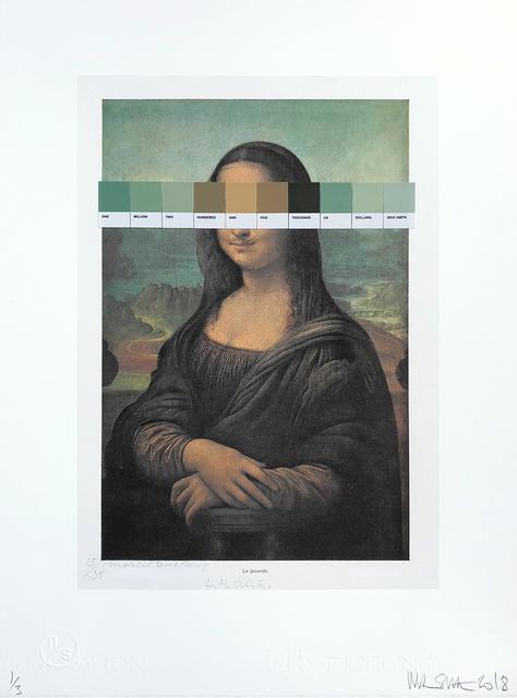 , 'Duchamp - L.H.O.O.Q. #15/35   ,' 2018, Lawrence Alkin Gallery