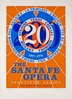 Robert Indiana, Santa Fe Opera (Hand signed, numbered)