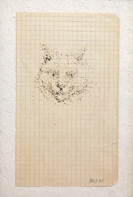 , 'Tête de chat,' 1947, Gagosian