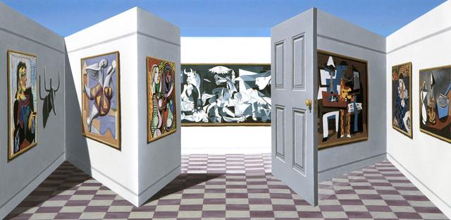 Patrick Hughes, 'Picassos', 2012, Tangent Contemporary Art