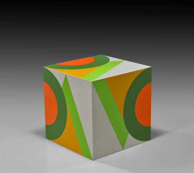 , 'untitled cube (grey background VC),' 1984, Louis Stern Fine Arts