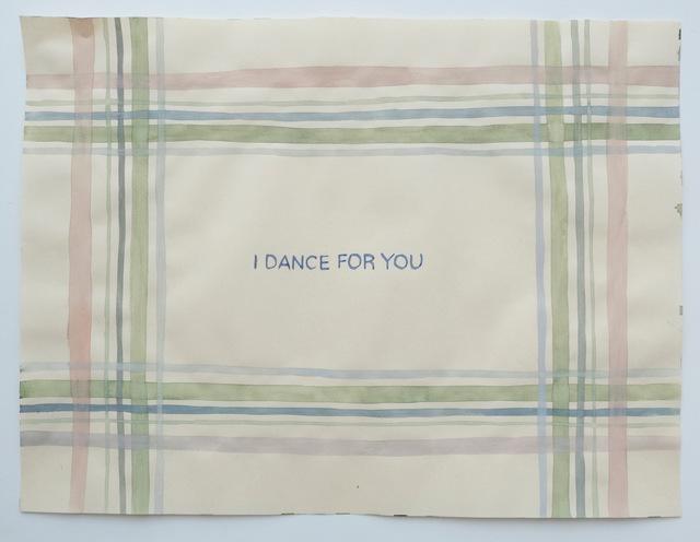 Julia Kuhl, 'Domestic Textiles Series, I Dance For You', 2019, frosch&portmann