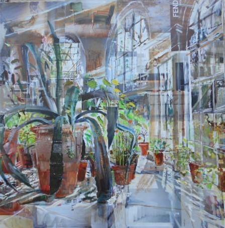 , 'Osterley Park House, Garden Room (fend),' 2019, Quantum Contemporary Art