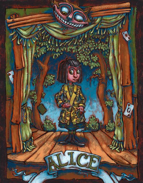 , 'Alice on Stage,' , Helikon Gallery & Studios