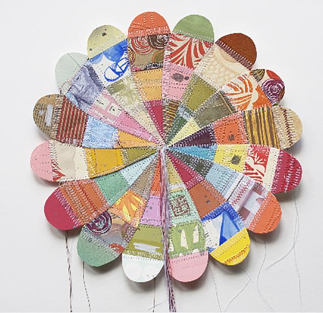 , 'Medium Sewn Flower,' 2010, V1 Gallery