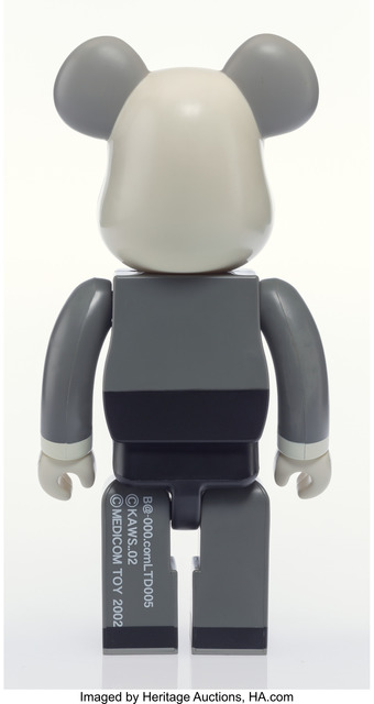KAWS, 'Companion BE@RBRICK 400%', 2002, Other, Painted cast vinyl, Heritage Auctions