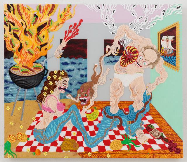 , 'Pineapple Picnic,' 2016, Joshua Liner Gallery