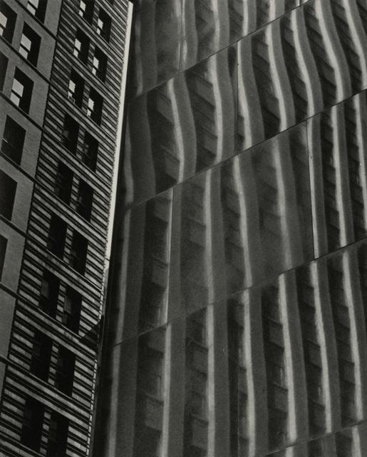 , 'Building Reflection, Glass & Steel,' Circa 1950, Candela Gallery
