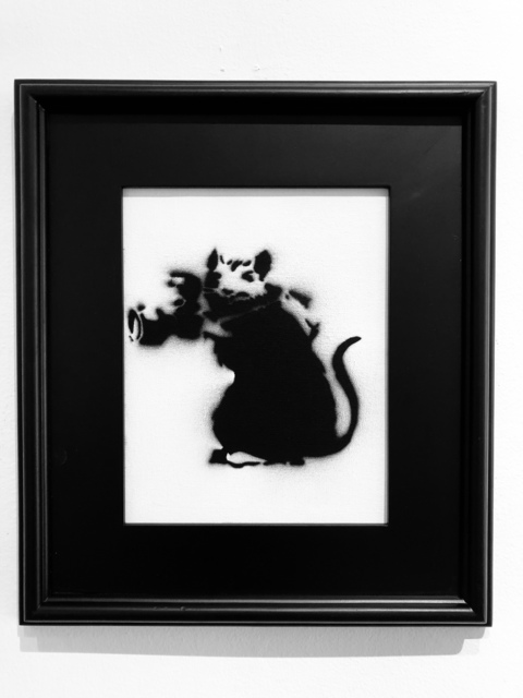 , 'Rat with Camera,' 2015, Bruce Lurie Gallery