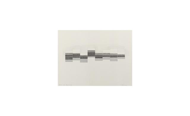 Joan Witek, 'Sketch for Atlantic VI ( D-187 )', 2003, Bartha Contemporary