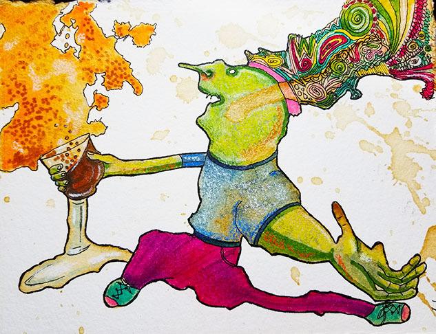 , 'Cheers!,' , Peninsula Gallery