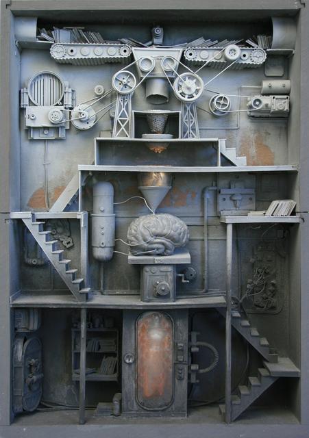 , 'Remplissage du cerveau,' 2008, Jonathan LeVine Projects